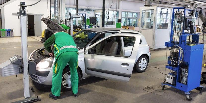 Priprava vozil za tehnični pregled