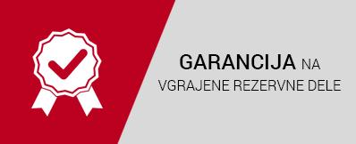 Garancija na rezervne dele